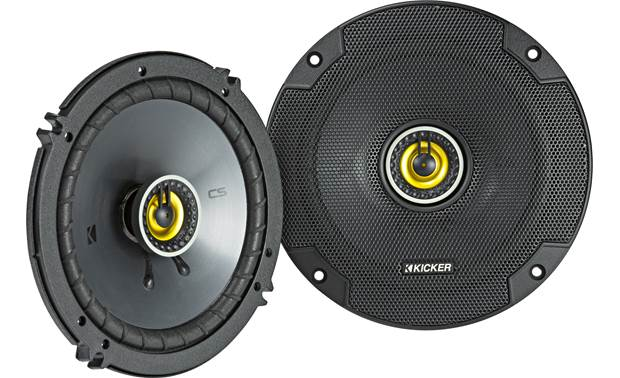 Kicker 46CSC654 Give your music a satisfying boost in quality