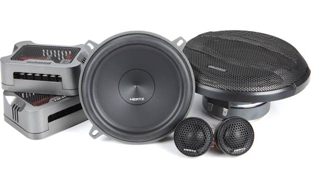 Hertz MPK 130.3 PRO This system uses key Hertz technology like a V-cone woofer