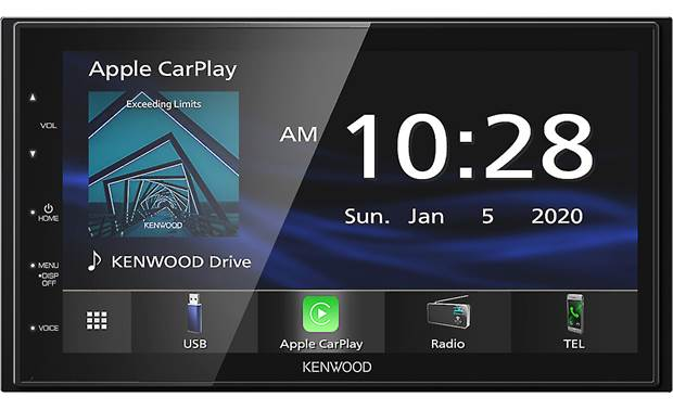 Kenwood DMX4707S Add Android Auto and Apple CarPlay to your dash