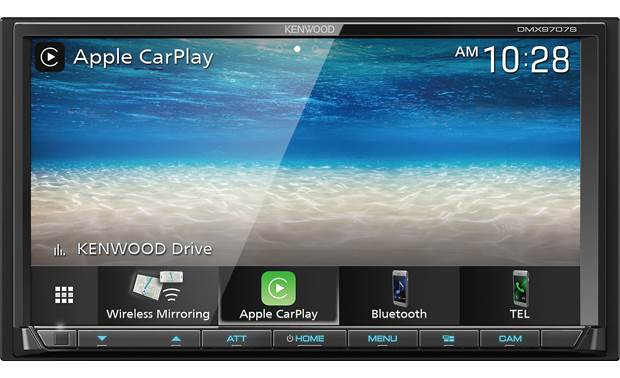 Kenwood DMX9707S Enjoy wireless Apple CarPlay and Android Auto