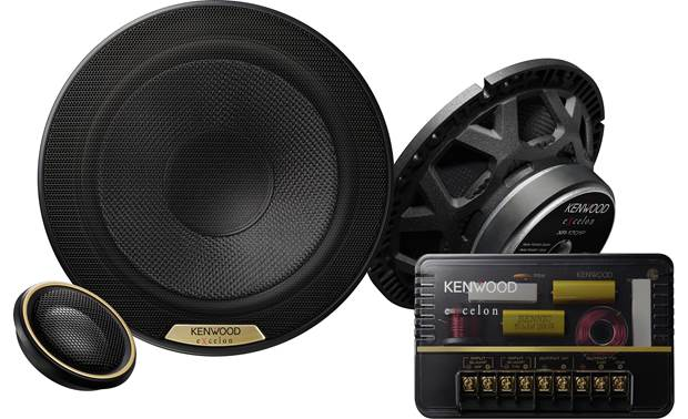 Kenwood Excelon XR-1801P Experience the exceptional sound of Kenwood's Excelon Reference Series component speakers