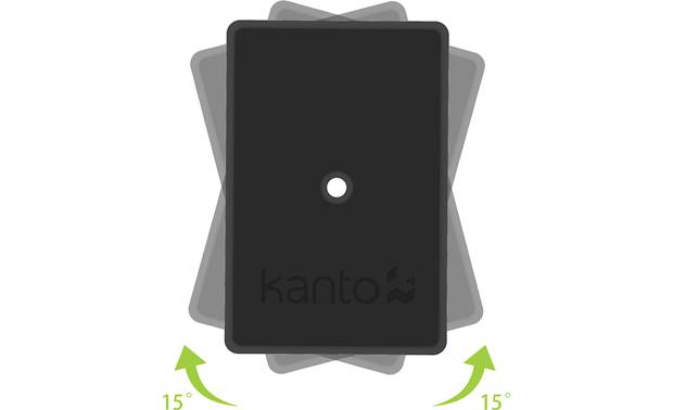 Kanto SP9 Top plates rotate up to 30 degrees