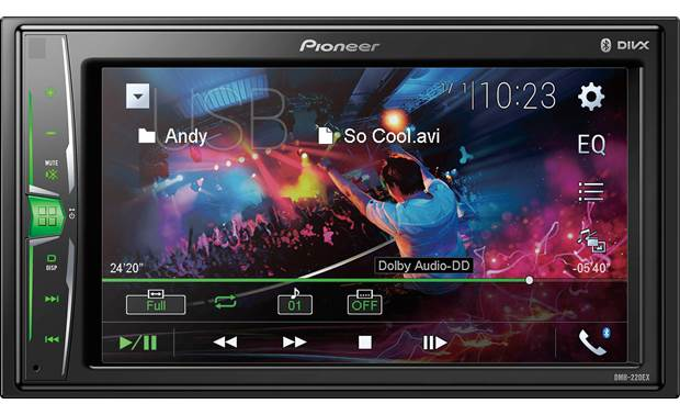 Pioneer DMH-220EX Front