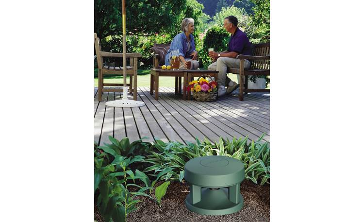 Bose® Free Space® 51 environmental speakers In a garden