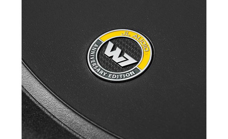 JL Audio 10W7AE-3 Anniversary Edition Badge