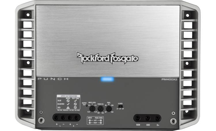 Rockford Fosgate PM400X2 Hidden control panel