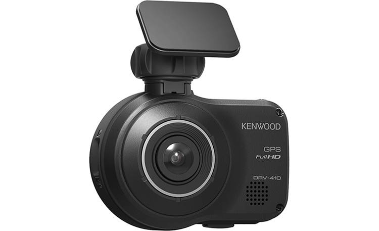 Kenwood DRV-410 Kenwood incorporates safety features like Collision Avoidance into this dash cam