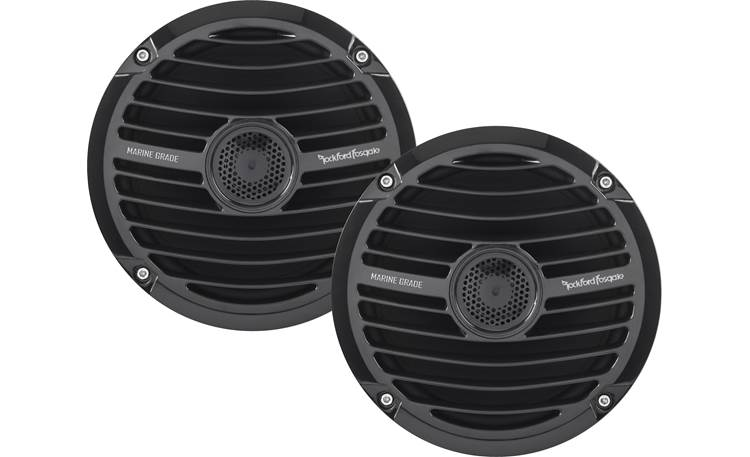 Rockford Fosgate YXZ-STAGE5 Four Rockford Fosgate RM1652 marine speakers