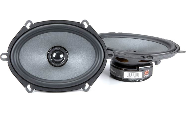 Morel Tempo Ultra Integra 572 Morel builds the Tempo Ultra Integra tweeter recessed in the woofer cone to improve imaging