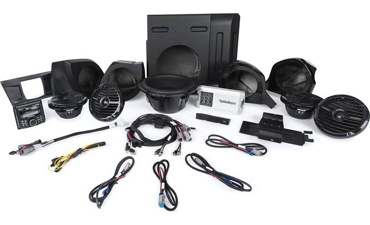 Rockford Fosgate YXZ-STAGE5 audio upgrade kit