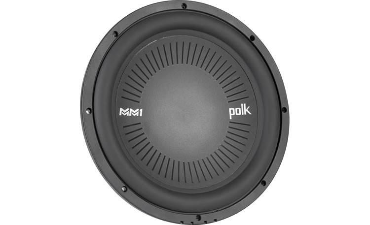 Polk Audio MM 1042 DVC a titanium-coated polymer cone that'll stand the test of time