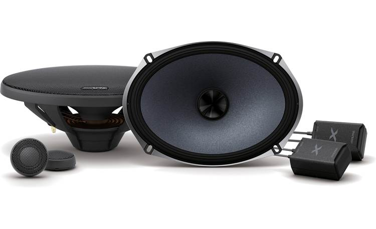 Alpine X-S69C Experience premium audio with Alpine's X-Series.