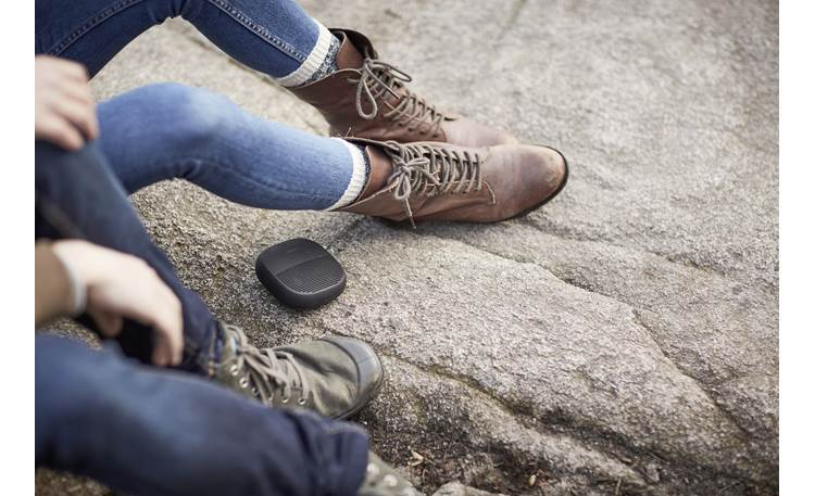 Bose® SoundLink® Micro <em>Bluetooth®</em> speaker Black - rugged casing built for outdoor use