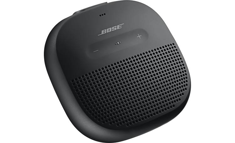 Bose® SoundLink® Micro <em>Bluetooth®</em> speaker Black - left front
