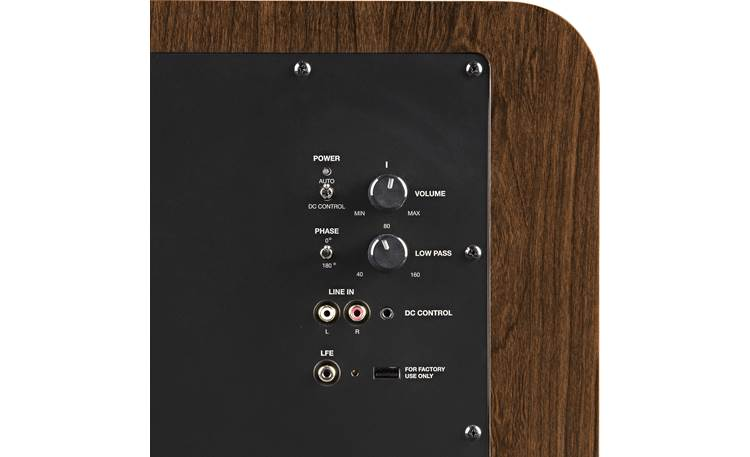 Polk Audio HTS 12 Rear-panel controls