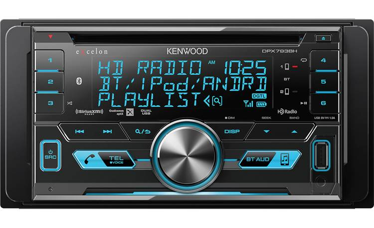 Kenwood Excelon DPX793BH Other