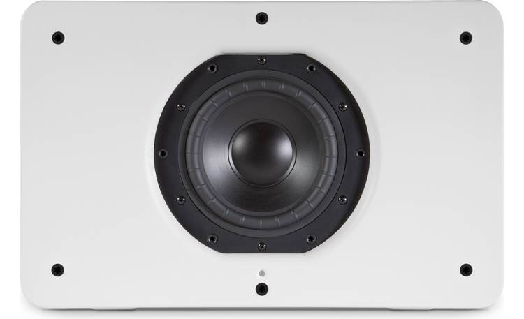 Bluesound Pulse Sub White - front, view, grille off