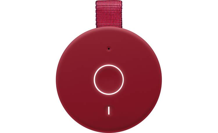 Ultimate Ears BOOM 3 Sunset Red - top-mounted control buttons