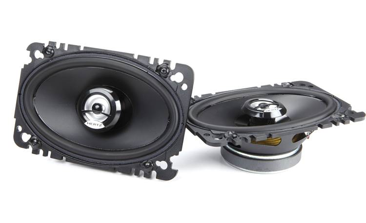 Hertz DCX 460.3 Swap out your old speakers for Hertz's Dieci Series