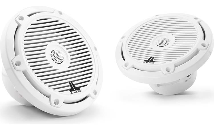JL Audio M3-650X-C-GW JL Audio builds the tweeter into the classic white grille