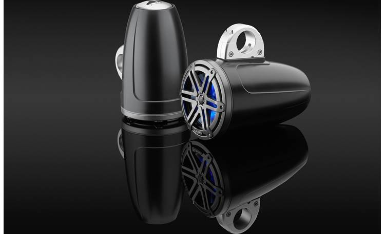 JL Audio M3-770ETXv3-Sb-S-Gm-i Clamps pictured in this photo are sold separately