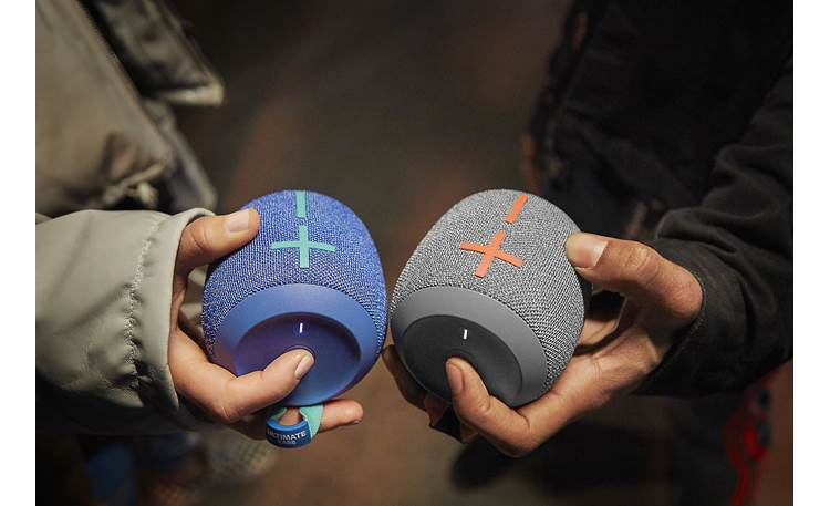 Ultimate Ears WONDERBOOM 2 One-touch stereo or mono pairing (second WONDERBOOM 2 available separately)