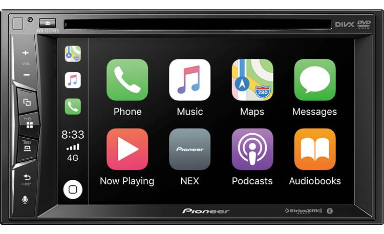 Pioneer AVH-1550NEX The AVH-1550NEX supports CarPlay.