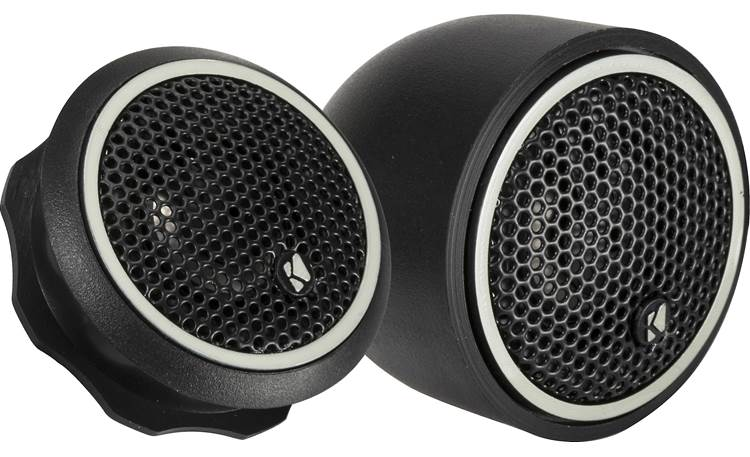 Kicker 46CST204 Bring new detail to your music with these titanium tweeters