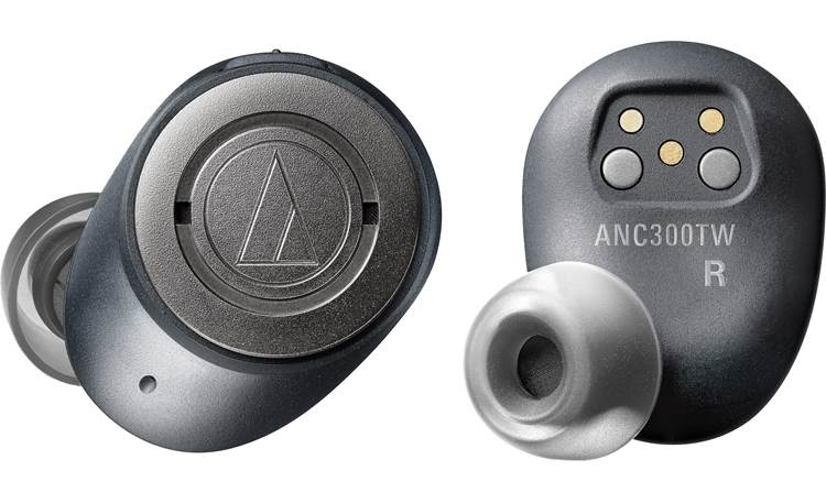 Audio-Technica ATH-ANC300TW 100% wire-free earbuds with noise cancellation technology and studio-grade Audio-Technica sound