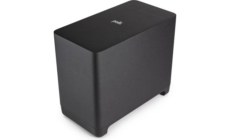 Polk Audio React Subwoofer Flared port tube keeps keeps your bass precise