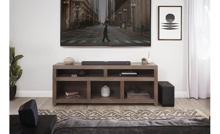 Polk Audio React Subwoofer Designed to work wirelessly with Polk REACT Sound Bar (sold separately)