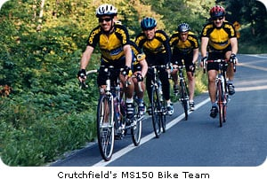 Crutchfield's MS150 Bike Team