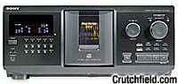 Sony CDP-CX355 300 Disc CD Changer