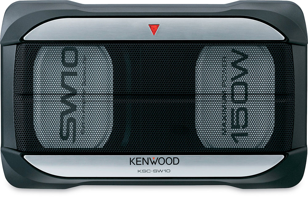 Active Subwoofer Wiring Diagram : Kenwood ksc sw10 compact powered subwoofer at crutchfield canada