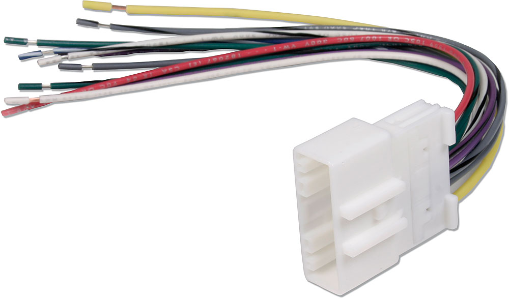 metra 70-7552 receiver wiring harness connect a new car stereo in select  2007-up infiniti, nissan, subaru, and suzuki vehicles at crutchfield canada