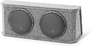 "JL Audio PowerWedge CS210RG-W3v3-2 Dual 10"" 2-ohm"