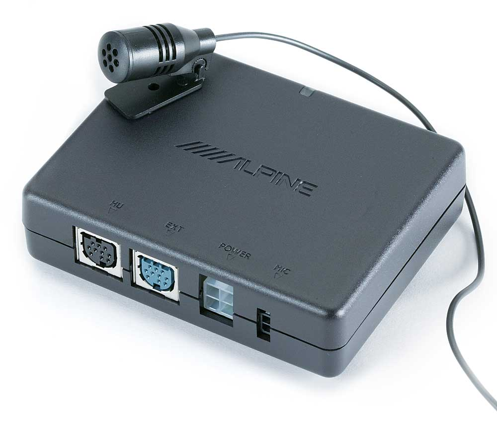 Alpine KCE-350BT Bluetooth® wireless adapter for select 2007-up Alpine  receivers at Crutchfield Canada