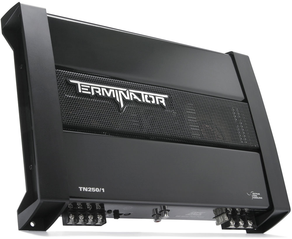 Mtx Terminator Tn250 1 Mono Subwoofer Amplifier 200 Watts Rms X Car Audio Amp Wiring Diagrams At 2 Ohms Crutchfield Canada