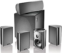 Definitive ProCinema 600 BK Home Theatre Speaker S