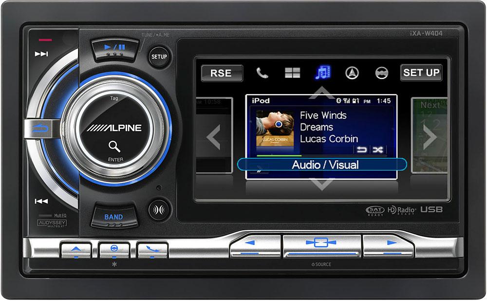 Alpine Ixa W404 Digital Media Receiver At Crutchfield Canada