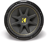 "Kicker 10C124 12"" 4 Ohm Component Subwoofer"