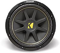 "Kicker 10C128 12"" 8-Ohm Component Subwoofer"