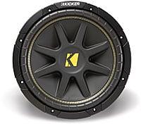 "Kicker 10C154 15"" 4-Ohm Component Subwoofer"