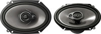 "Pioneer TS-A6874R 6"" x 8"" 3-way Speakers"