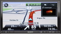 Sony XNV-770BT Navigation Receiver w/ Bluetooth