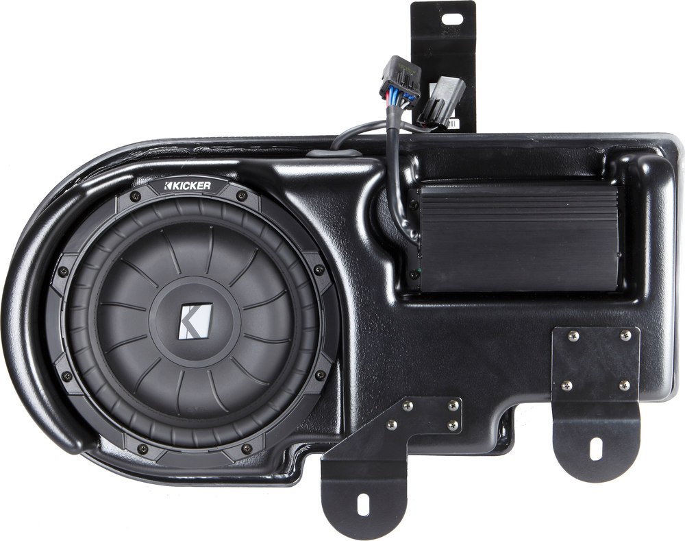 Kicker Vss Substage Sf150c09 Custom Fit Powered Subwoofer For 2009 Speaker Wire Diagram F 150 Fx2 2011 Up Ford Super Crew Cab At Crutchfield Canada