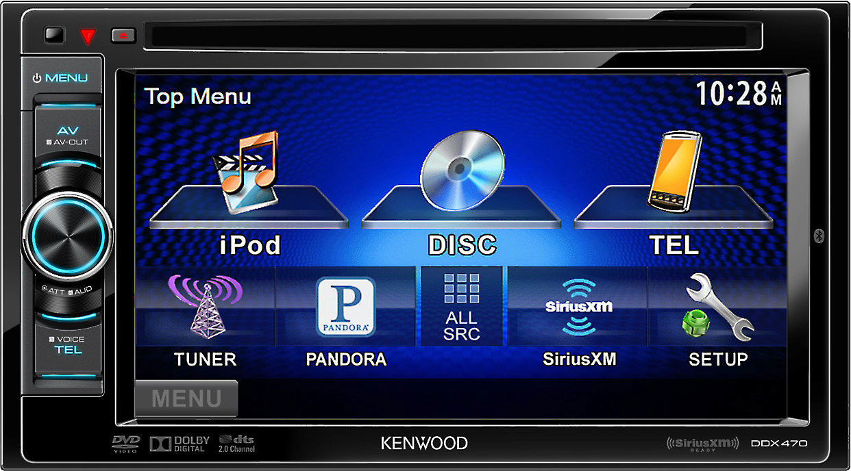 Kenwood DDX470 DVD receiver at Crutchfield Canada on