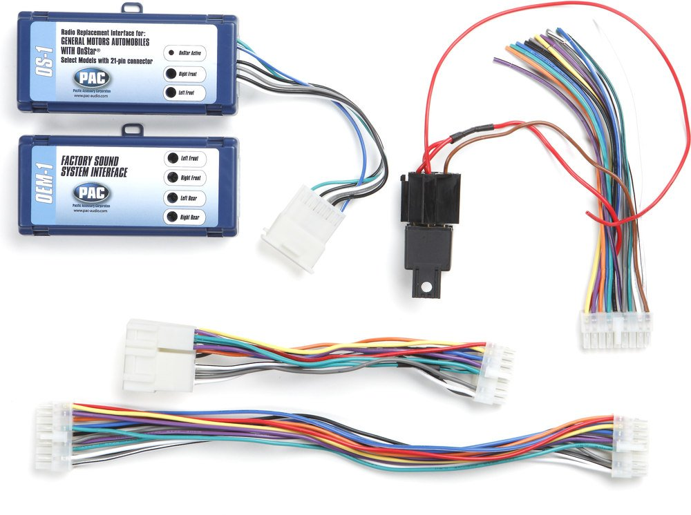 PAC OS 1 Wiring Interface Connect A New Car Stereo And Retain OnStar The Bose