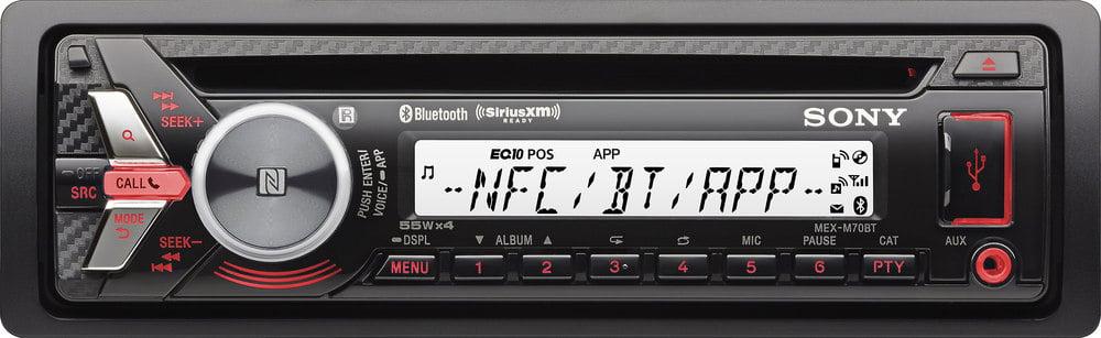 sony mex m70bt cd receiver for jeep powersports or marine rh crutchfield ca