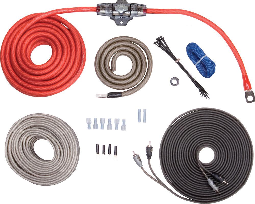 Rockford Fosgate 2 Gauge Amp Wiring Kit Solutions Car Amplifier Kits Rfk4x Complete 4